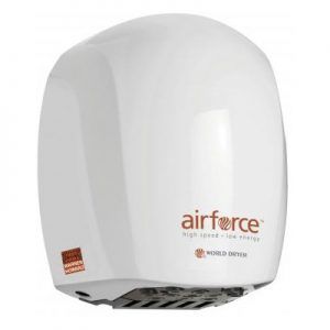 Airforce hand dryer in white