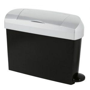 sanitary bi with a designer black and satin finish.