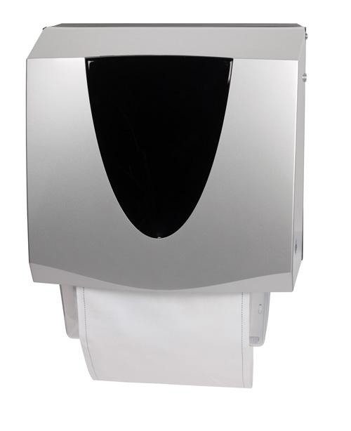 Linen roller towel dispenser