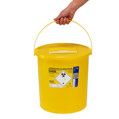 Extra large sharps disposal bin