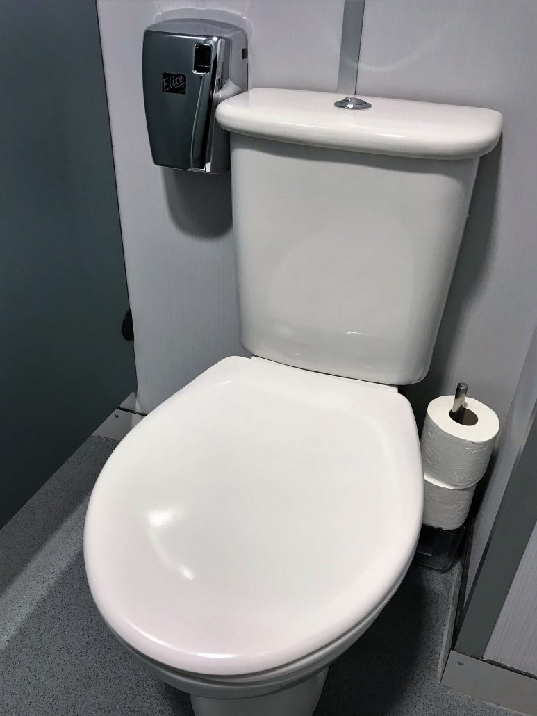 Washroom services: Urinal and WC treatment