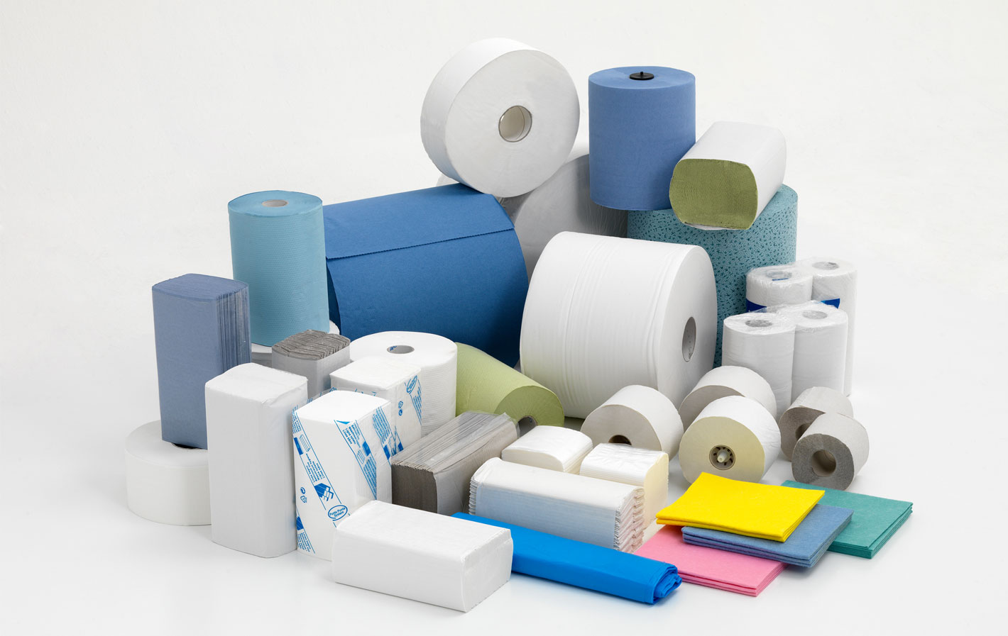 Various washroom disposable products from Elite washrooms