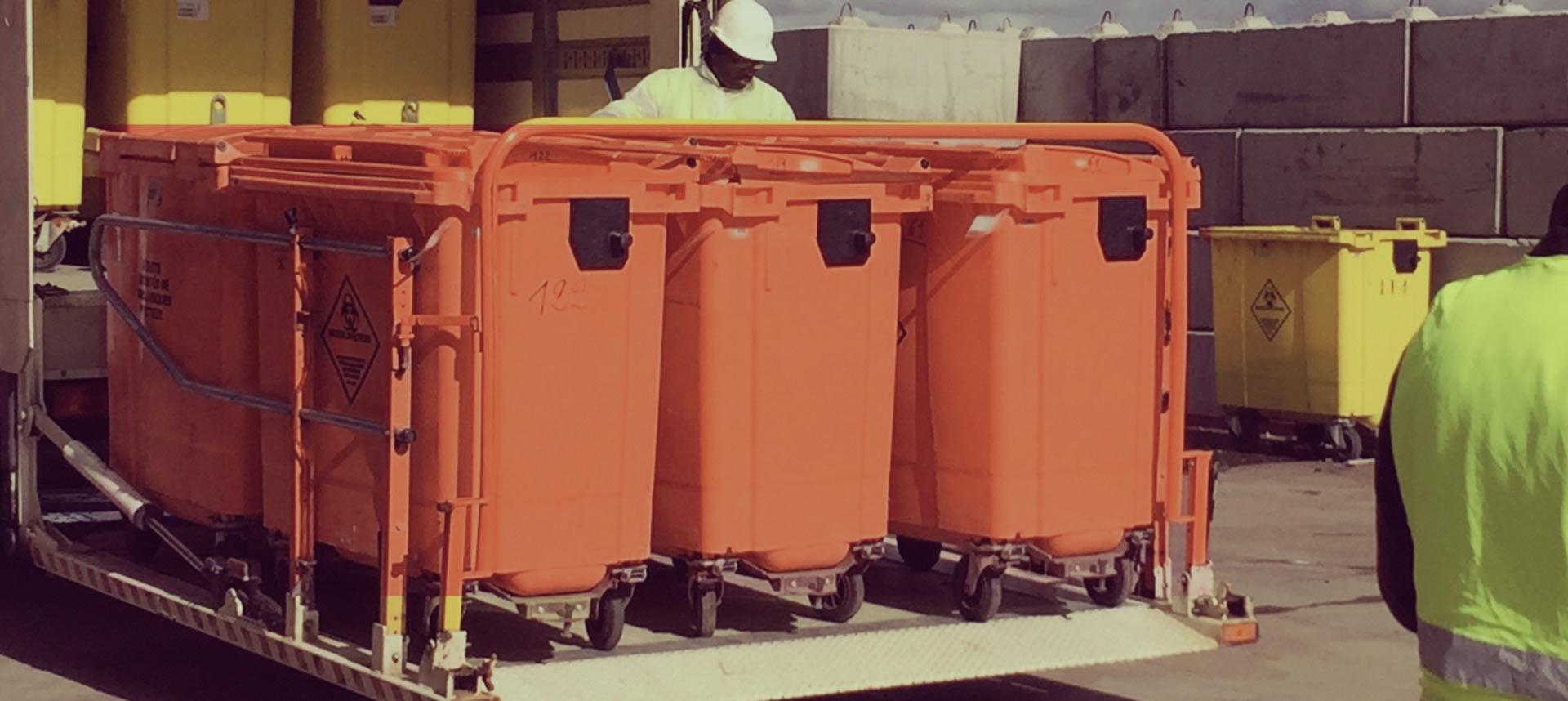 Elite Washroom Services: Clinical waste disposal bins
